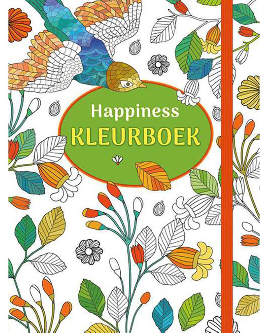happiness kleurboek wereldwinkels